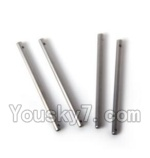 LH-X6 X6C Parts -10 Main shaft for the Main gear(4pcs)