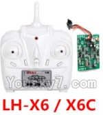 LH-X6 X6C Parts -22 LH-X6 X6C Transmitter and Circuit board