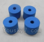 LH-X6 X6C Parts -30 sponge pad for the landing skid,Tripod(4pcs)
