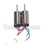 LH-X8 Parts-18 Rotating Motor with red and blue wire(2pcs)