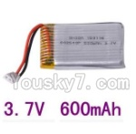 LH-X8 Parts-21 Official 3.7v 600mah battery