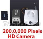 LH-X8 Parts-43 HD Camera unit(Include the 200,0,000 Pixels camera,Memory card,USB Reader)
