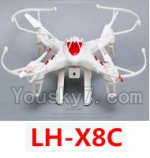 LH-X8 Parts-48 BNF for LH-X8C-Red