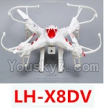 LH-X8 Parts-50 BNF for LH-X8DV-Red