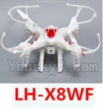 LH-X8 Parts-52 BNF for LH-X8WF-Red