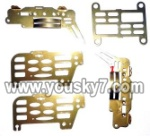 LH110-parts-42 Whole metal frame unit