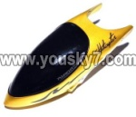 LH109-parts-01 Head cover(Yellow)