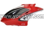 LH109-parts-03 Head cover(Red)