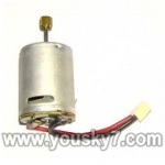 LH1201D-parts-21 Main rotor motor A with long shaft