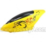 LH1202-parts-01 Head cover(Yellow)