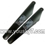 LH1202-parts-05 Upper main rotor blades(2pcs)
