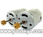 LH1202-parts-11 Main motor with long shaft and gear & Main motor with short shaft and gear