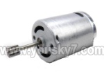 LH1202-parts-12 Main motor with long shaft and gear