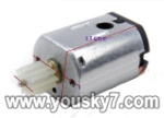 LH1202-parts-14 Tail motor with shaft and gear