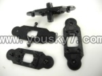 L988-helicopter-06 Upper main grip set & Lower main grip set