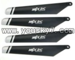 F-series MJX f46 helicopter parts-04 Main rotor blades(4pcs)