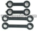 F-series MJX f46 helicopter parts-06 Long connect buckle(2pcs) & Short connect buckle(2pcs)