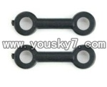 F-series MJX f46 helicopter parts-07 Short connect buckle(2pcs)