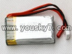 F-series MJX f46 helicopter parts-09 7.4V 700MAH 15C li-battery