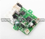 F-series MJX f46 helicopter parts-10 Receiving PCB Board circuit board