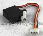 F-series MJX f46 helicopter parts-39 9g front Servo