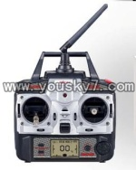 F-series MJX f46 helicopter parts-47 Remote control 2.4G