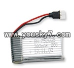 MJX-F47-helicopter-parts-04 Battery-3.7v 380Mah 20c White plug