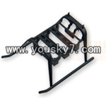 MJX-F47-helicopter-parts-05 Landing skid
