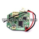 MJX-F47-helicopter-parts-21 pcb board,Receiver board