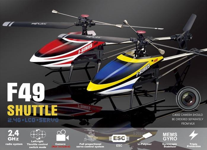 MJX-F49 Helicopter,MJX-F649 helicopter