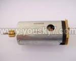 MJX-F649-parts-43 Tail motor with shaft and gear