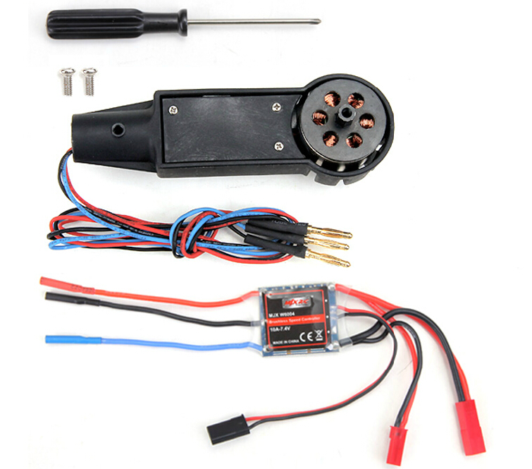 Upgrade Tail MJX W6004 brushless motor parts MJX W6004 Tail brushless motor kit for the MJX F49/F649 helicopter
