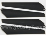 MJX-T42C-parts-05 Lower main blades(4pcs)