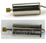 MJX-T42C-parts-21  Main motor with long shaft and gear & Main motor with short shaft and gear