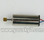 MJX-T42C-parts-23  Main motor with long shaft and gear