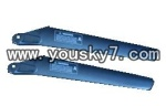 MJX-T43-helicopter-parts-03 Upper main blades(2A)