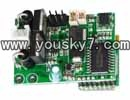 MJX-T43-helicopter-parts-18 Receiver Board,PCB Board