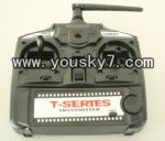 MJX-T43-helicopter-parts-24 Remote control