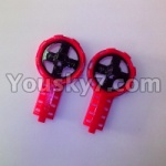 MJX-T54-helicopter-parts-07 Side wing rack(2pcs-Red)