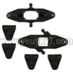 MJX-T55-T655-parts-06 Upper main grip set & Lower main grip set