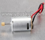 MJX-T55-T655-parts-30 main motor with long shaft and gear