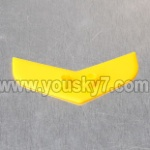 MJX-T55-T655-parts-43 Horizontal wing-Yellow
