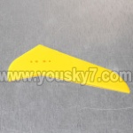 MJX-T55-T655-parts-44 vertical wing(Yellow)