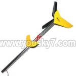 MJX-T55-T655-parts-51 Long tail unit A-Yellow