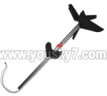 MJX-T55-T655-parts-52 Long tail unit A-Black
