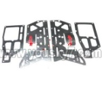 MJX-T55-T655-parts-62 Main Metal Frame(4pcs)
