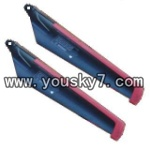 MJX-T55-parts-05 Lower main blades(2B)