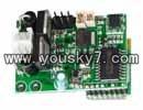 MJX-T55-parts-29 Receiver PCB Board