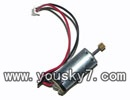 MJX-T55-parts-31 main motor with long shaft