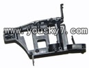 MJX-T55-parts-35 main frame body